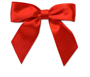 Includes Red Satin Bow