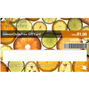 Gift Card for 1-2 Year Old Tree (Any Variety)